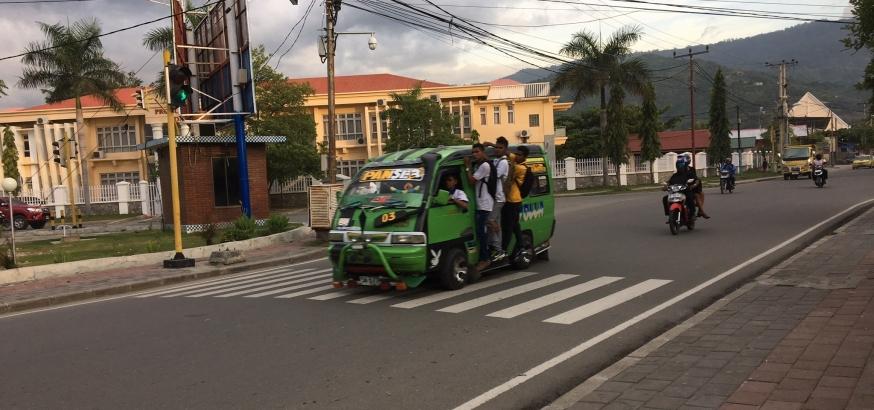 Minibus in Timor Leste