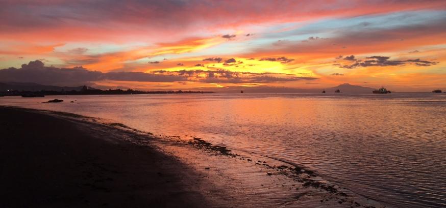 Sunset, Dili, Timor Leste
