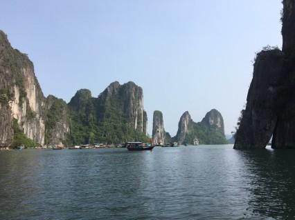 Ha Long Bay's iconic Karst formations, Vietnam