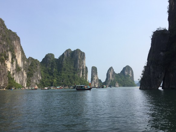 Ha Long Bay's iconic Karst formations, Vietnam