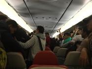 Flight from China to Nepal